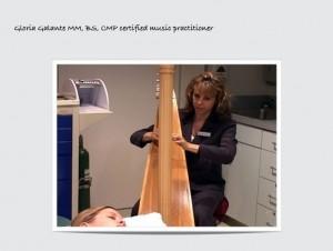 Therapeutic harp